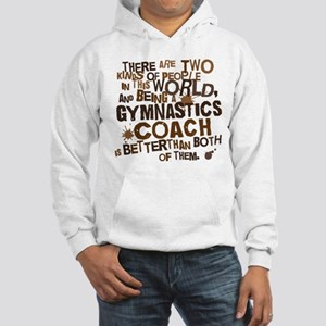 Gift for Gymnastics Coach Hooded Sweatshirt