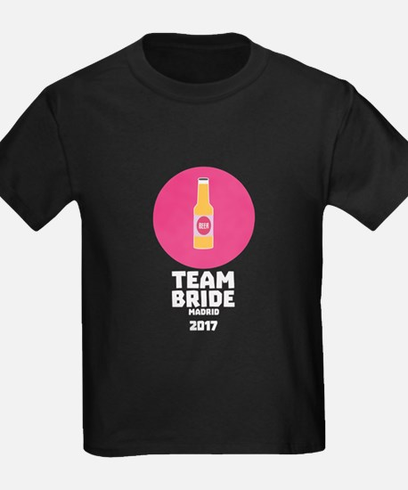 Team bride Madrid 2017 Henparty Csw6x T-Shirt