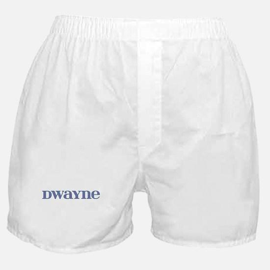 Dwayne Blue Glass Boxer Shorts