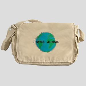 Travel Junkie Messenger Bag