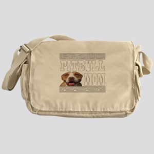 Proud Pitbull Mom/Dad Messenger Bag