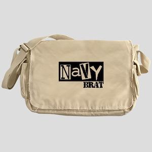 Punky Navy Brat Messenger Bag