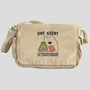 Pet Sitter Extraordinaire Messenger Bag