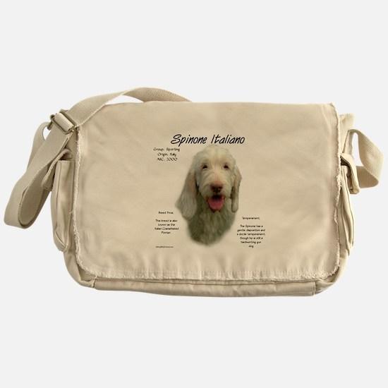 Spinone Italiano Messenger Bag