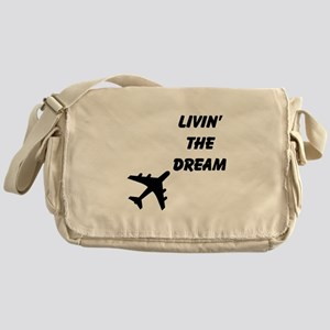 Living The Dream Messenger Bag