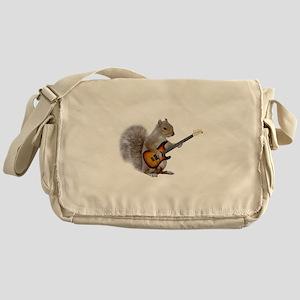 Squirrel Guitar Messenger Bag