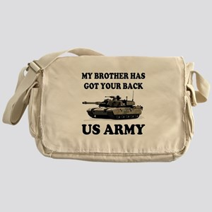 My Brother has got your back Messenger Bag
