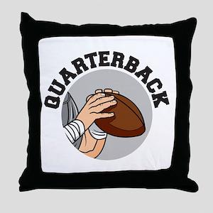 football quarterback vector graphic design Throw P