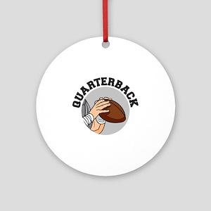 football quarterback vector graphic design Ornamen