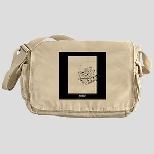 NOmrf Art Messenger Bag