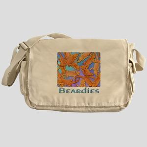 Bunches of Beardies Messenger Bag