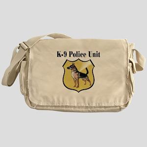 K9 Police Messenger Bag