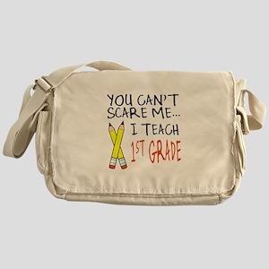 1st Grade Teacher Messenger Bag