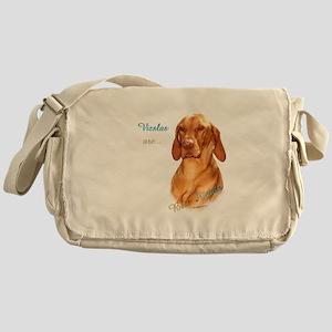 Vizsla Best Friend Messenger Bag