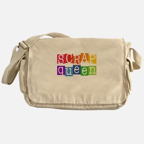Cute Scrapping Messenger Bag