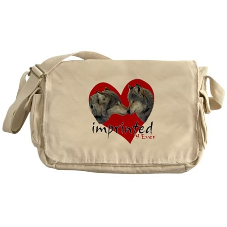 IMPRINTED 4 EVER WOLVES MESSENGER BAG