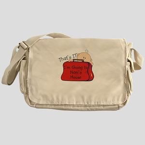 Going to Nani's Funny Messenger Bag