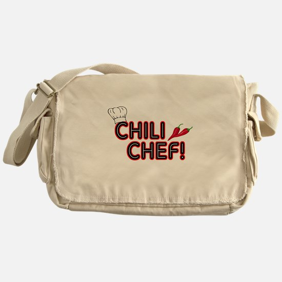 Chili Chef Messenger Bag