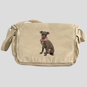 Italian Greyhound Picture - Messenger Bag