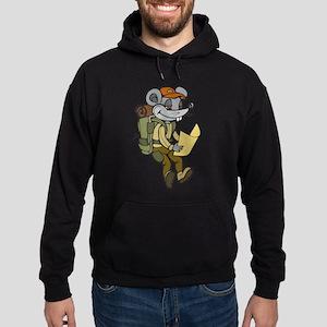 Backpacking Mouse Hoodie (dark)