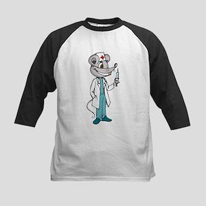 Doctor Nurse Mouse Kids Baseball Jersey