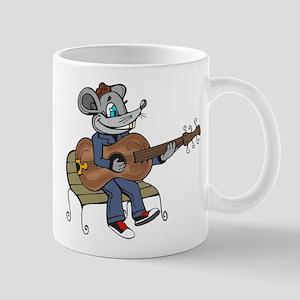 Mouse Playing Guitar Mug