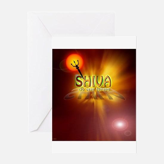 Om Namah Shivaya Greeting Card
