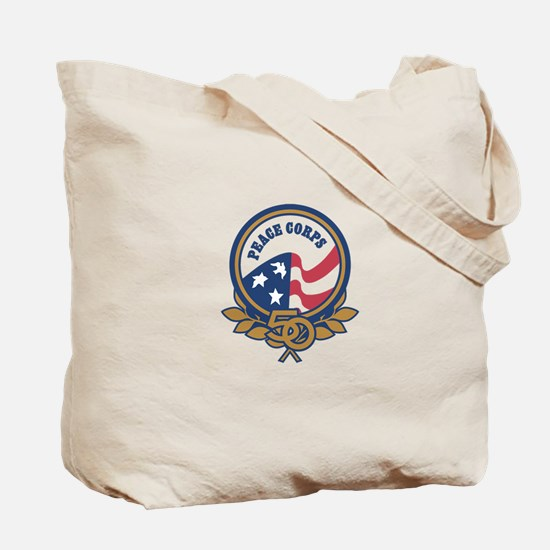 Cute Peace corps thailand 50th Tote Bag