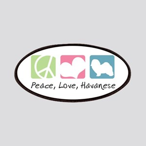 Peace, Love, Havanese Patches