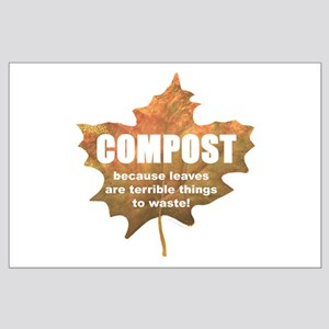 Composting Large Poster