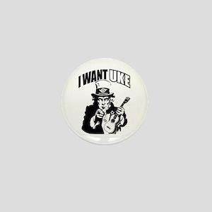 I WANT UKE 2 Mini Button