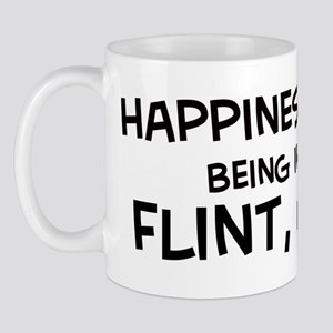 Happiness is Flint Mug