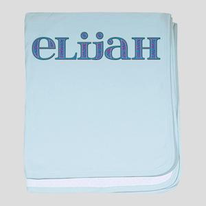 Elijah Blue Glass baby blanket