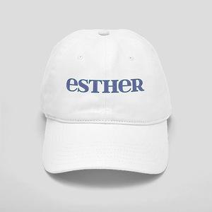Esther Blue Glass Cap