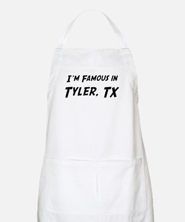 Famous in Tyler BBQ Apron