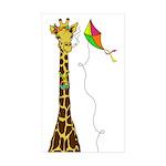 High as a Kite Sticker (Rectangle 50 pk)
