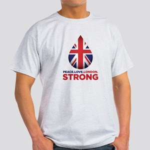 Peace. Love. London. Strong T-Shirt