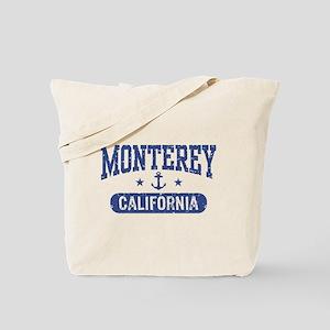 Monterey California Tote Bag