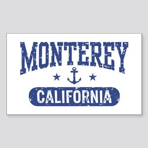 Monterey California Sticker (Rectangle)