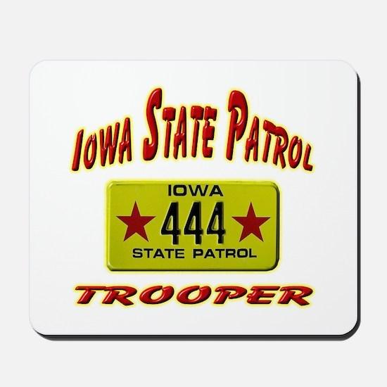 Iowa Highway Patrol Mousepad