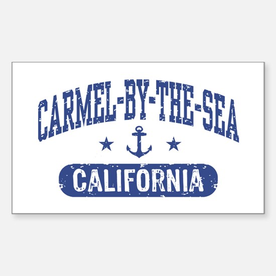 Carmel By The Sea California Sticker (Rectangle)