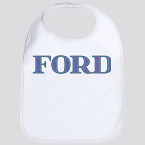 Ford Blue Glass Bib