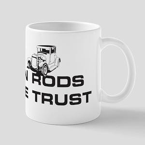 IN RODS WE TRUST Mug