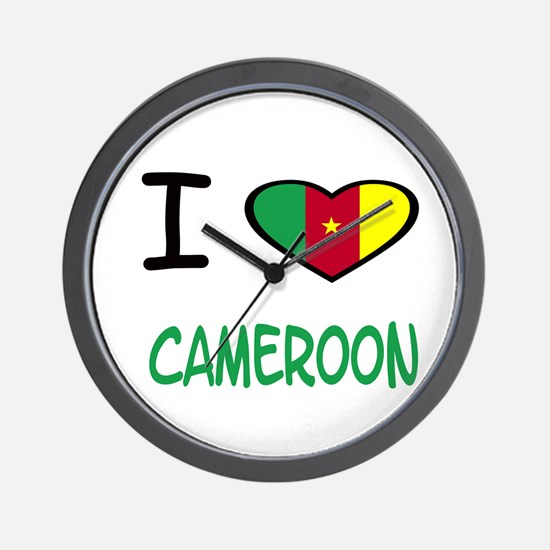 Cute Cameroon Wall Clock