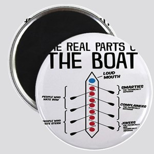 The Real Parts Of The Boat Magnets