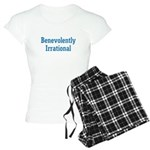 Benevolently Irrational Women's Light Pajamas