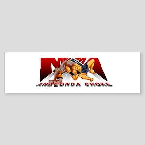 Ninja Skin MMA Anaconda Choke Sticker (Bumper)