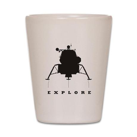 Lunar Module / Explore Shot Glass