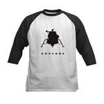 Lunar Module / Explore Kids Baseball Jersey