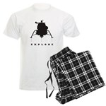 Lunar Module / Explore Men's Light Pajamas